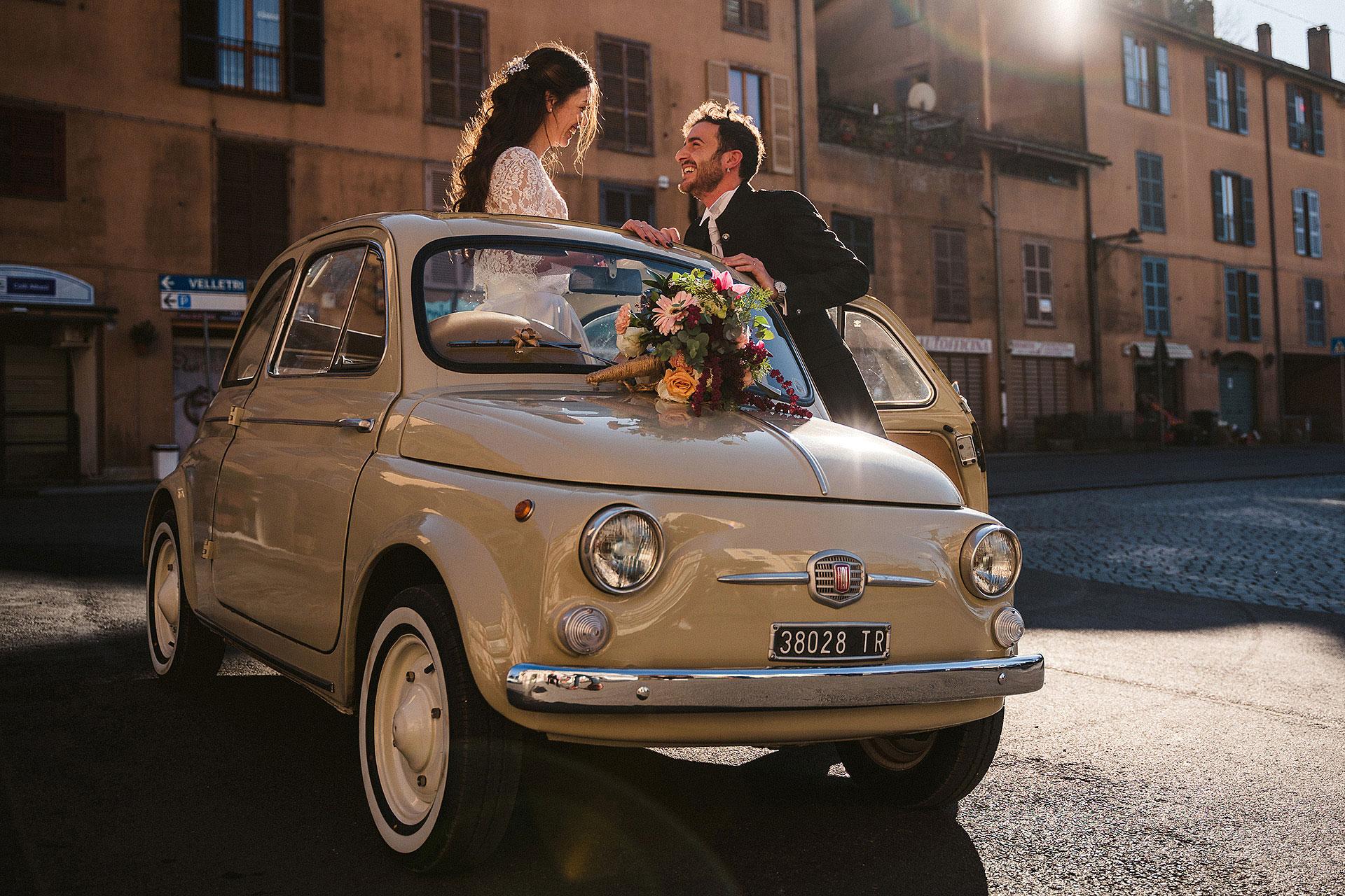 Fotografo matrimonio artistico roma