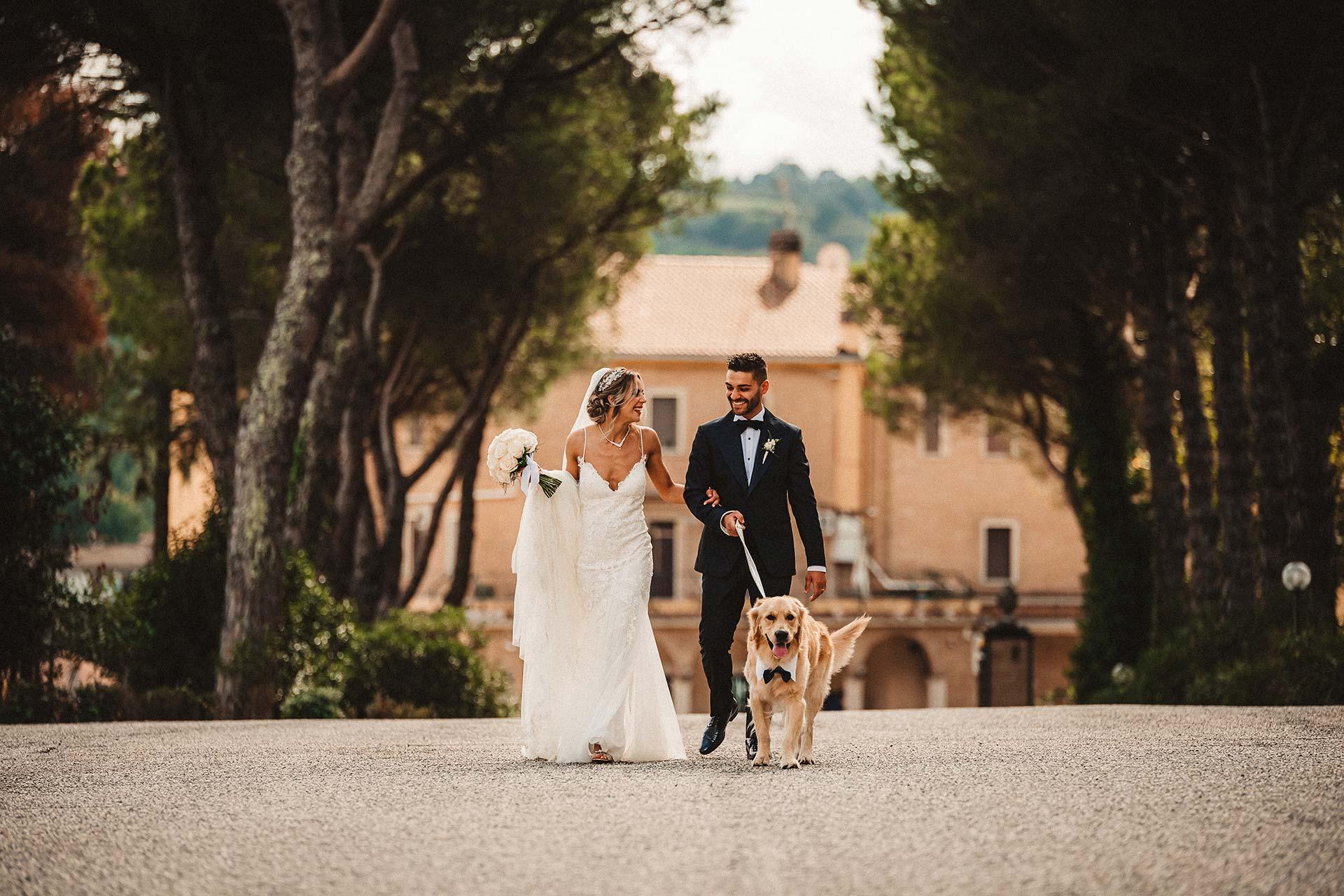 Servizio fotografico matrimonio a Roma