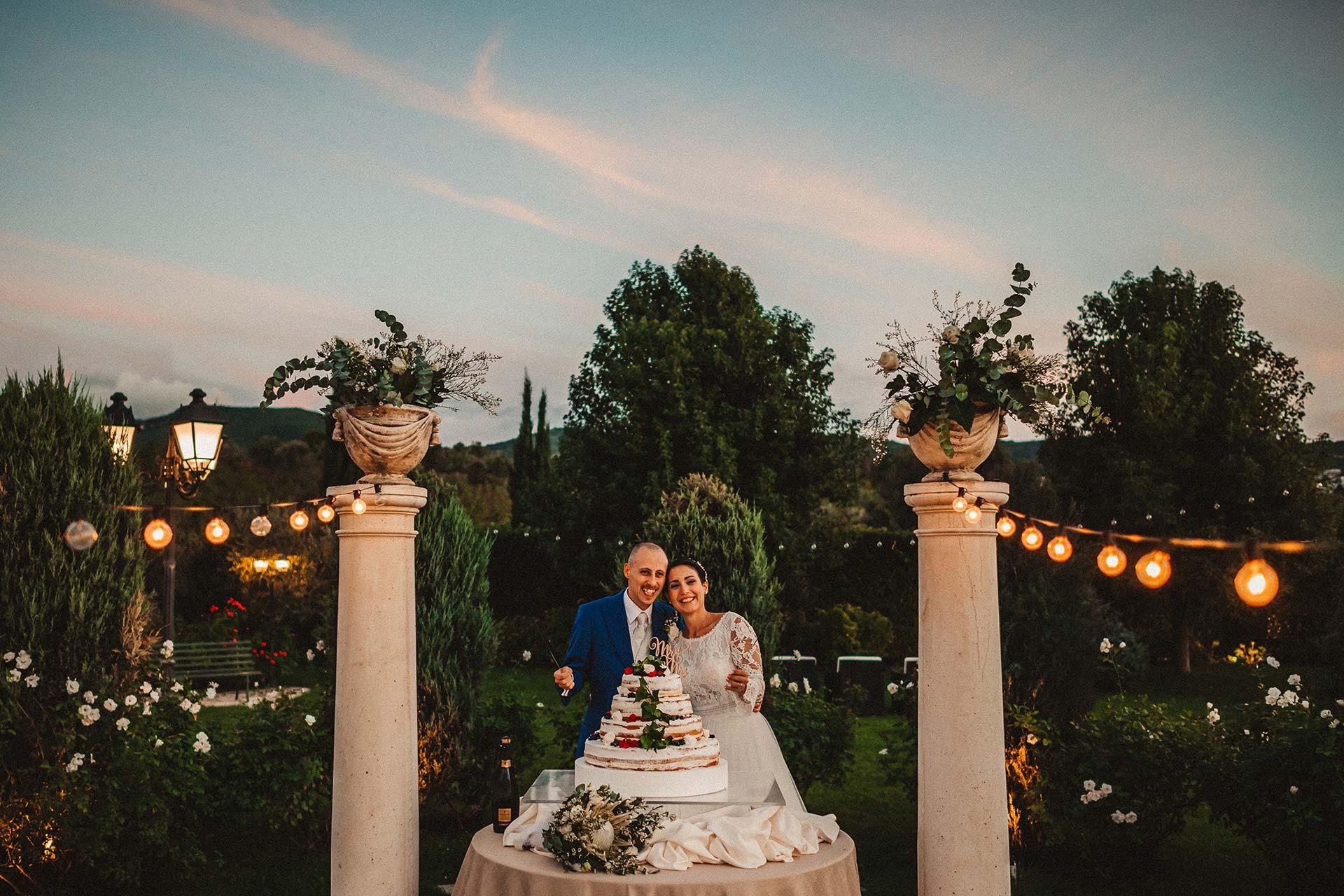 Foto matrimonio a villa dei consoli