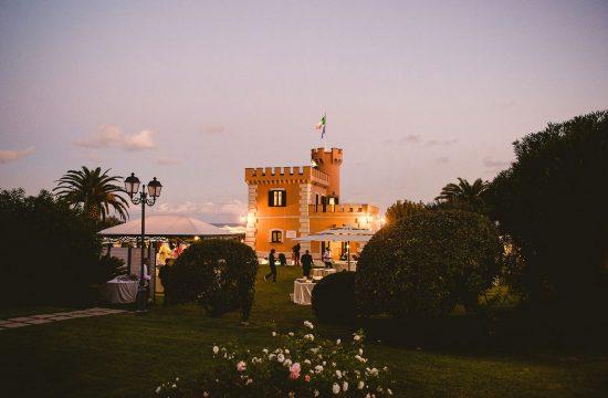 foto matrimonio Castello Borghese