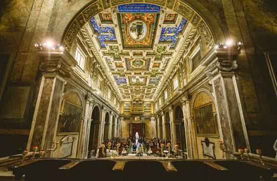 Matrimonio Basilica di Santa Francesca Romana